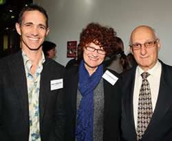 ILP Ambassadors Andy Griffiths, Kate Grenville and David Malouf Photographer: Prudence Upton