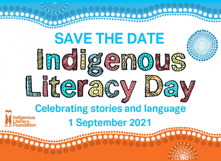 Save the date for Indigenous Literacy Day!