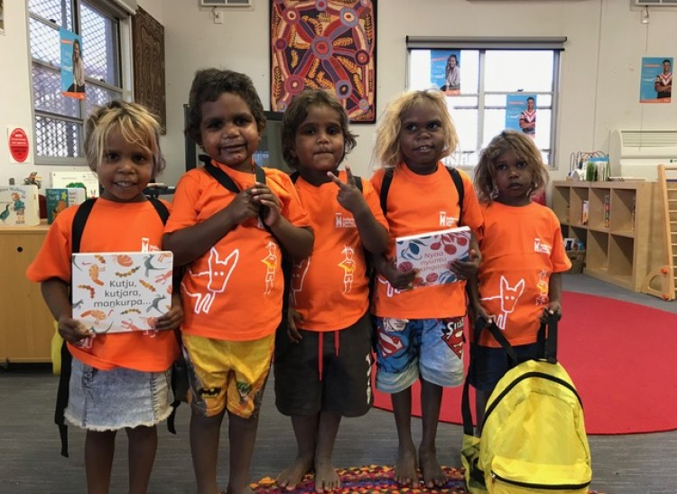 A Whirlwind of Book Launches in APY Lands
