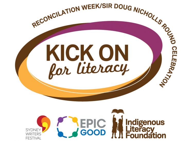 Kick On for Literacy - Sydney Writers Festival (24 May)