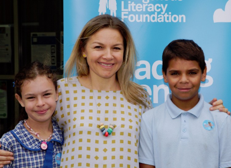 Justine Clarke launches the Great Book Swap for Indigenous literacy