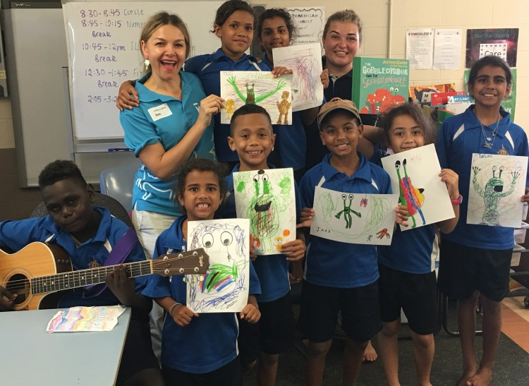 Bringing fun back into reading on the Tiwi Islands
