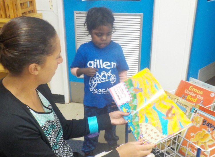Hungry for Stories in Alice Springs Pre-school