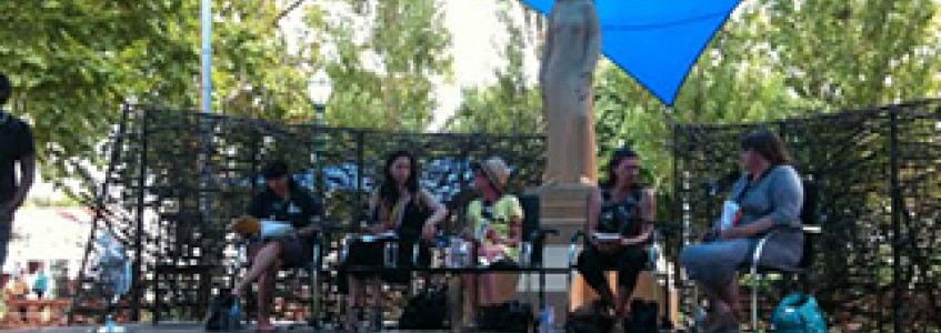 Discussing Indigenous Writing at Adelaide Writers Week