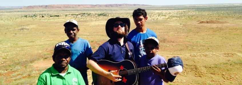 Singing and song writing in the Kimberley