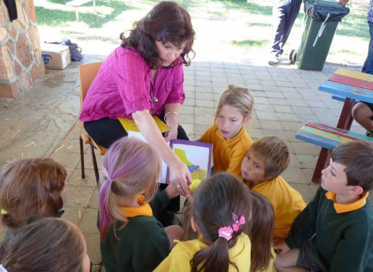 Wilcannia and Menindee workshops and book launch 2011
