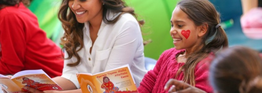 Jessica Mauboy sings on Indigenous Literacy Day!
