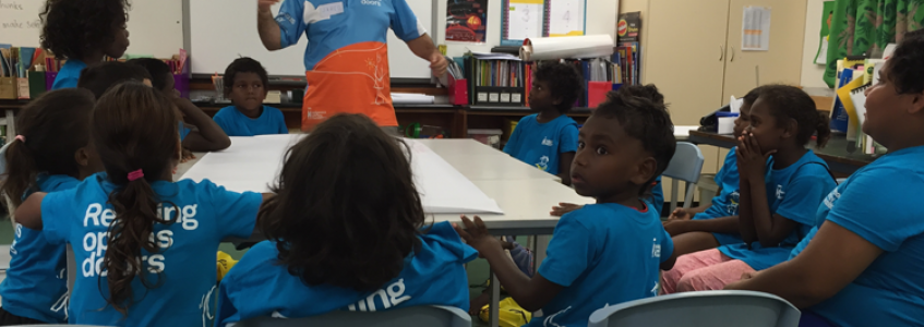 Author Jared Thomas reflects on the ILF trip to the Tiwi Islands