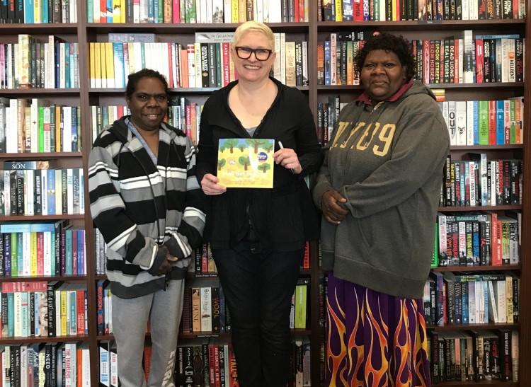 Australian Reading Hour Success for Moli det Bigibigi