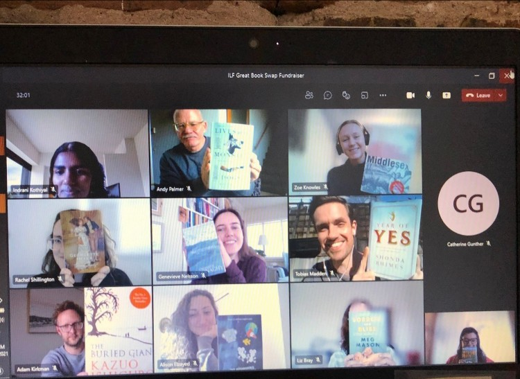 Swapping Books virtually with Bloomsbury