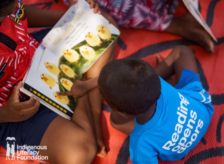 Reading is cool in the Tiwi Islands!