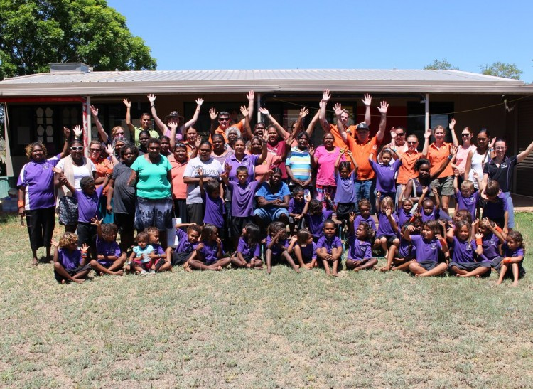Encouraging reading and school readiness in the East Kimberleys