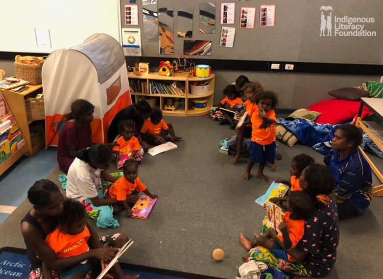 Fostering An Early Love Of Reading In Remote Arnhem Land