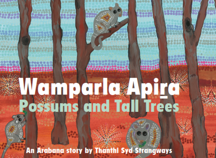 'Wamparla' is our Word of the Month - Celebrating Arabana in the UNESCO International Year of Indigenous Languages
