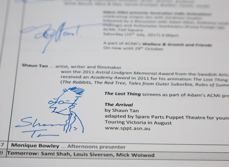 Musicians who sell their autographs on the web | Steve ...